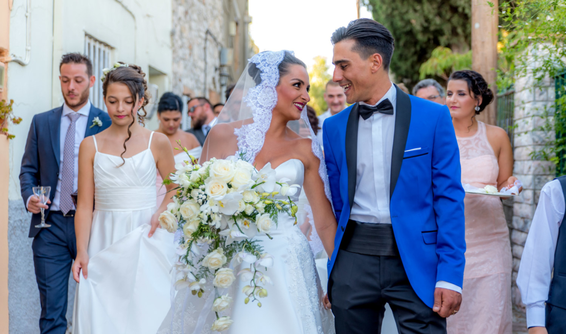 Wedding in Chios, Greece