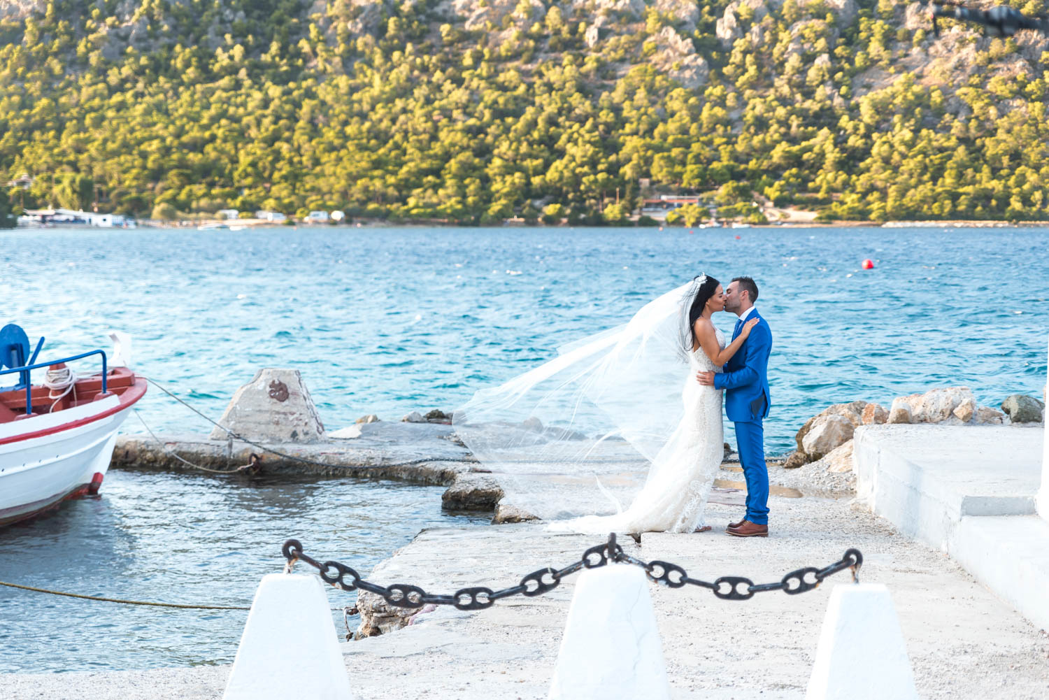 Wedding by the sea – Stavry & Alexis