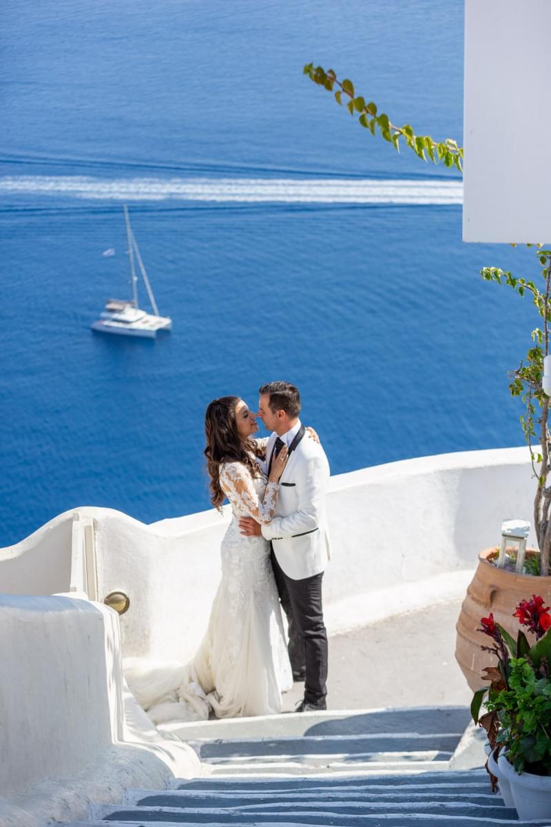 Paschalia & Andreas | Santorini